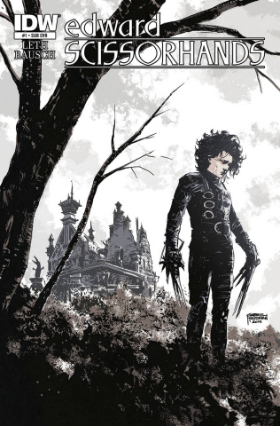 Edward Scissorhands #1 (Subscription Cover)