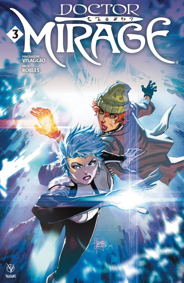 Doctor Mirage #3 (Tan Cover)