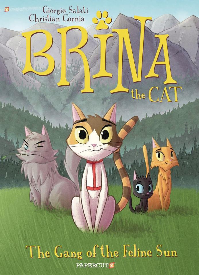 Brina the Cat Vol. 1: Gang of Feline Sun
