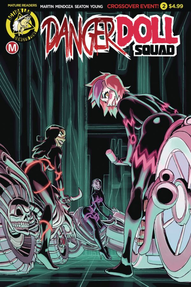 Danger Doll Squad #2 (Winston Young Cover)