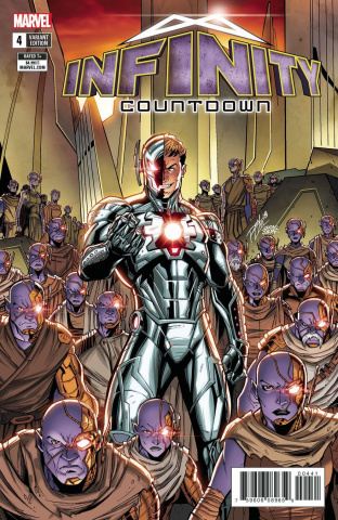 Infinity Countdown #4 (Lim Cover)