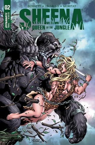 Sheena #2 (Buchemi Cover)