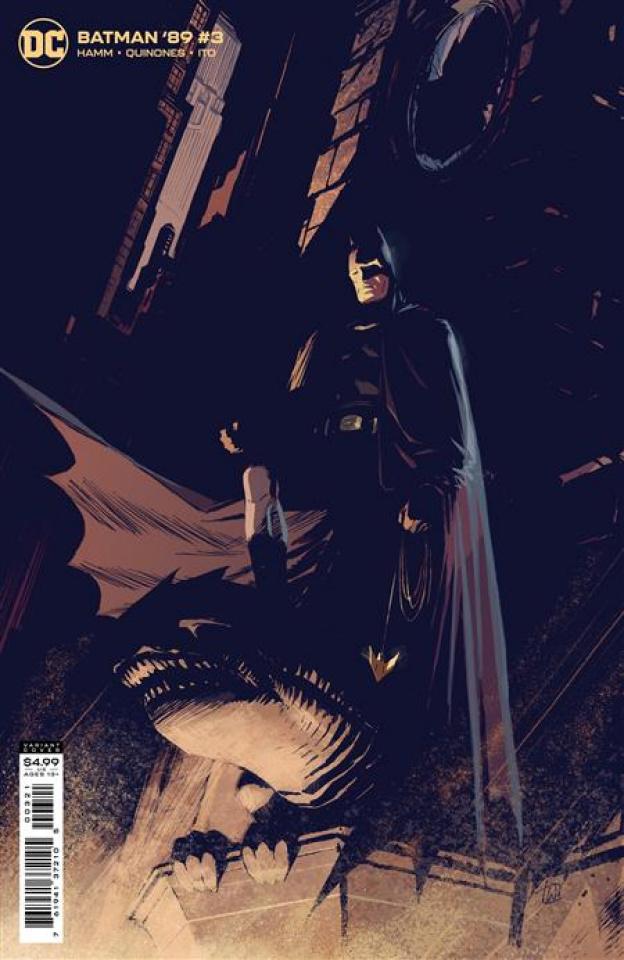 Batman '89 #3 (Lee Weeks Card Stock Cover)