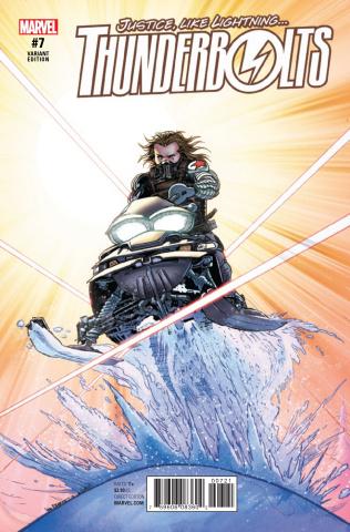 Thunderbolts #7 (Von Eeden Classic Cover)