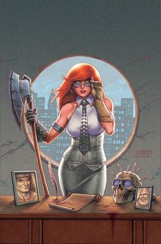 Sonjaversal #9 (Linsner Virgin Cover)