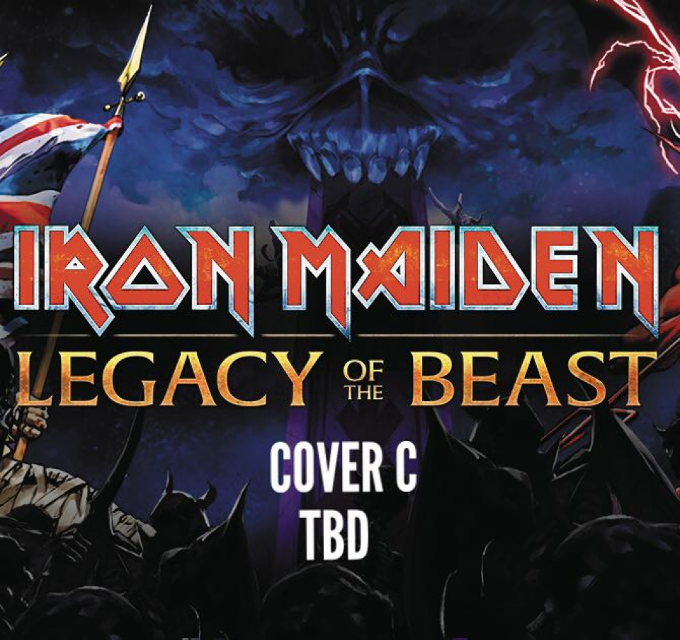 Iron Maiden: Legacy of the Beast #3 (Gorder Cover)