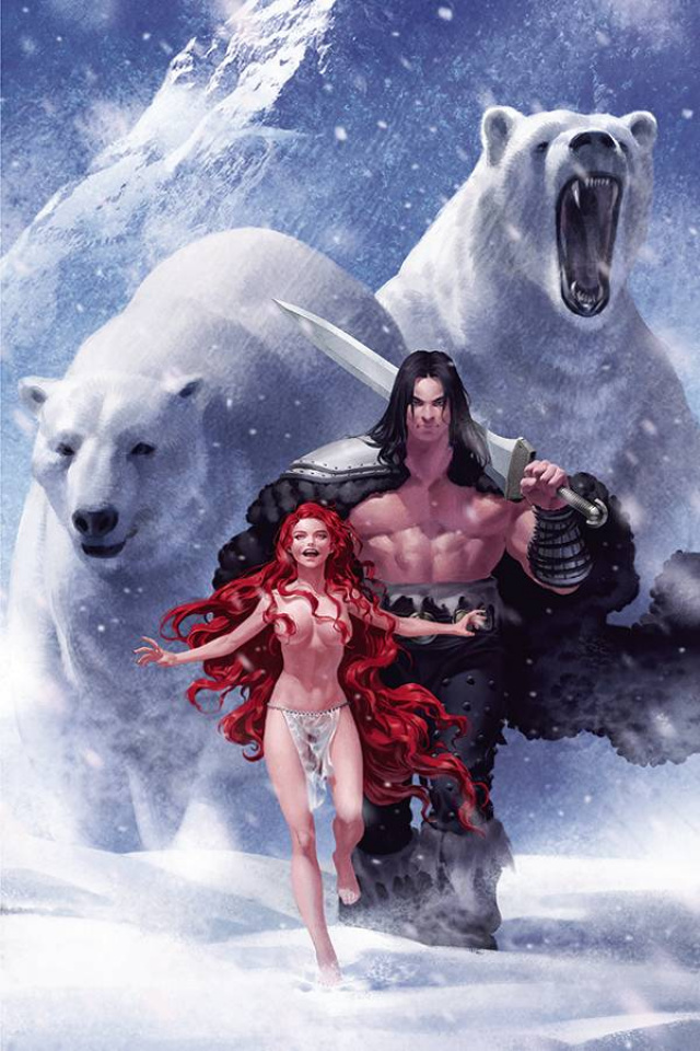 The Cimmerian: The Frost Giant's Daughter #1 (Yoon Cover)