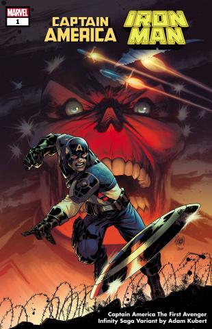 Captain America / Iron Man #1 (Clarke Infinity Saga Cover)