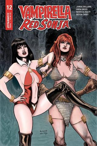 Vampirella / Red Sonja #12 (Acosta Cover)