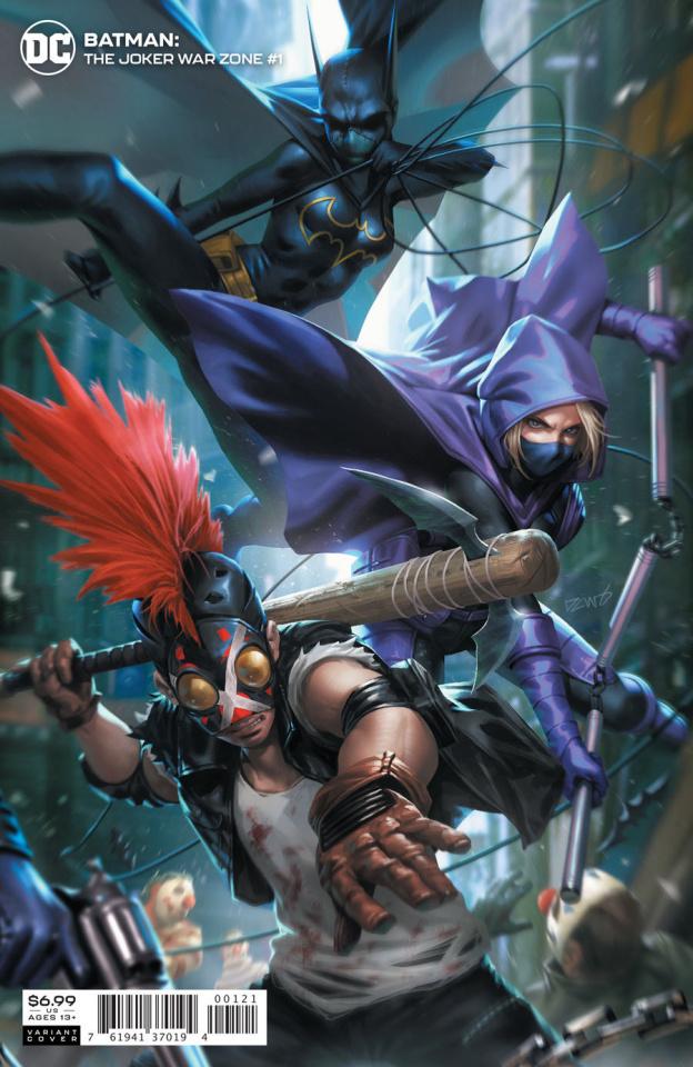 Batman: The Joker War Zone #1 (Derrick Chew Card Stock Cover)