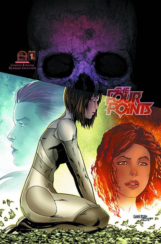 The Four Points #1 (10 Copy Cover)