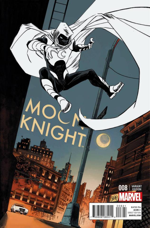 Moon Knight #8 (Shalvey Cover)