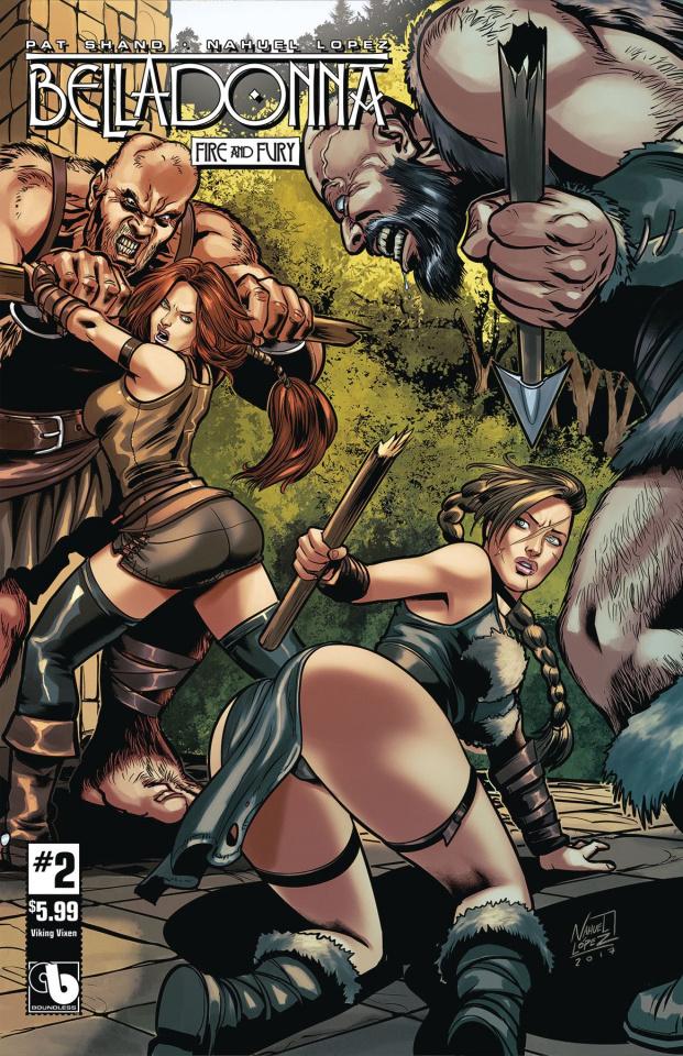 Belladonna: Fire and Fury #2 (Viking Vixen Cover)