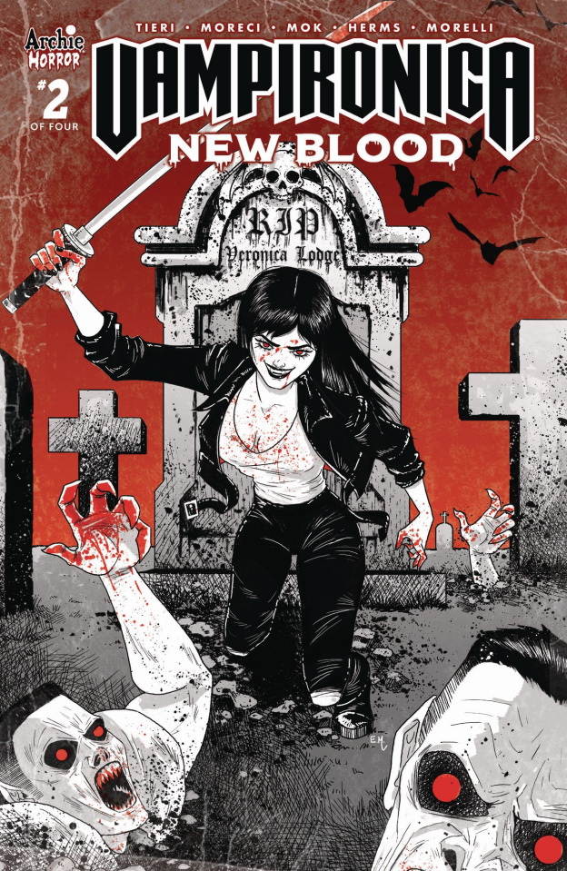 Vampironica: New Blood #2 (Hutchison Cover)