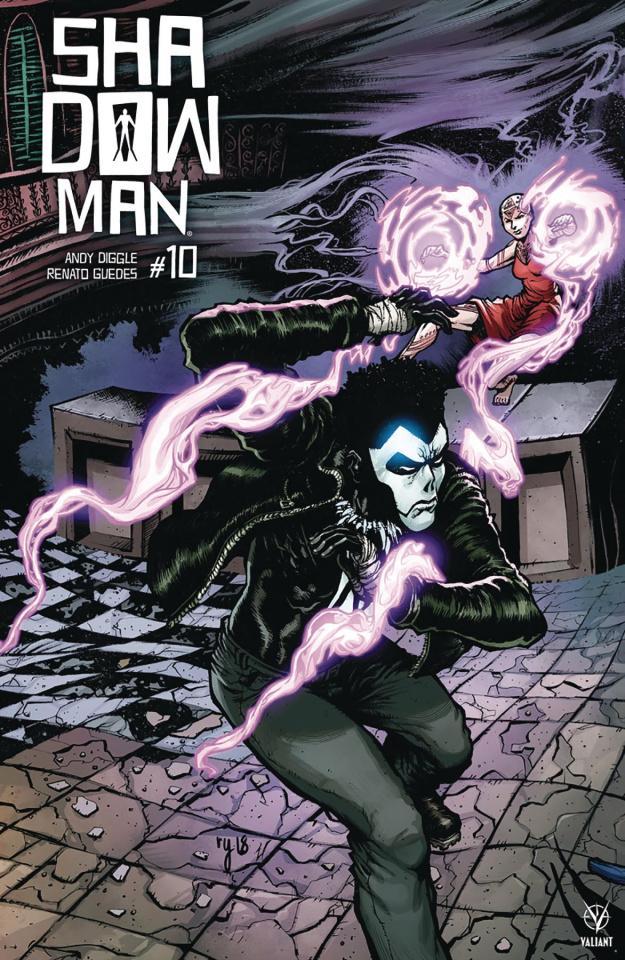 Shadowman #10 (20 Copy Interlocking Lee Cover)