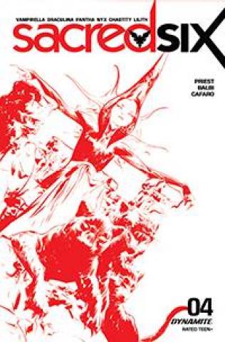 Sacred Six #4 (15 Copy Jae Lee Tint Cover)