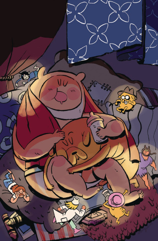 Adventure Time: Beginning of the End #1 (Subscription Daguna Cover)