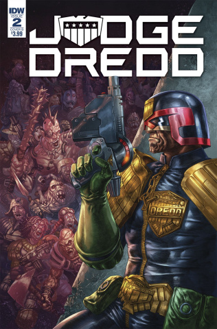 Judge Dredd: Under Siege #2 (Quah Cover)