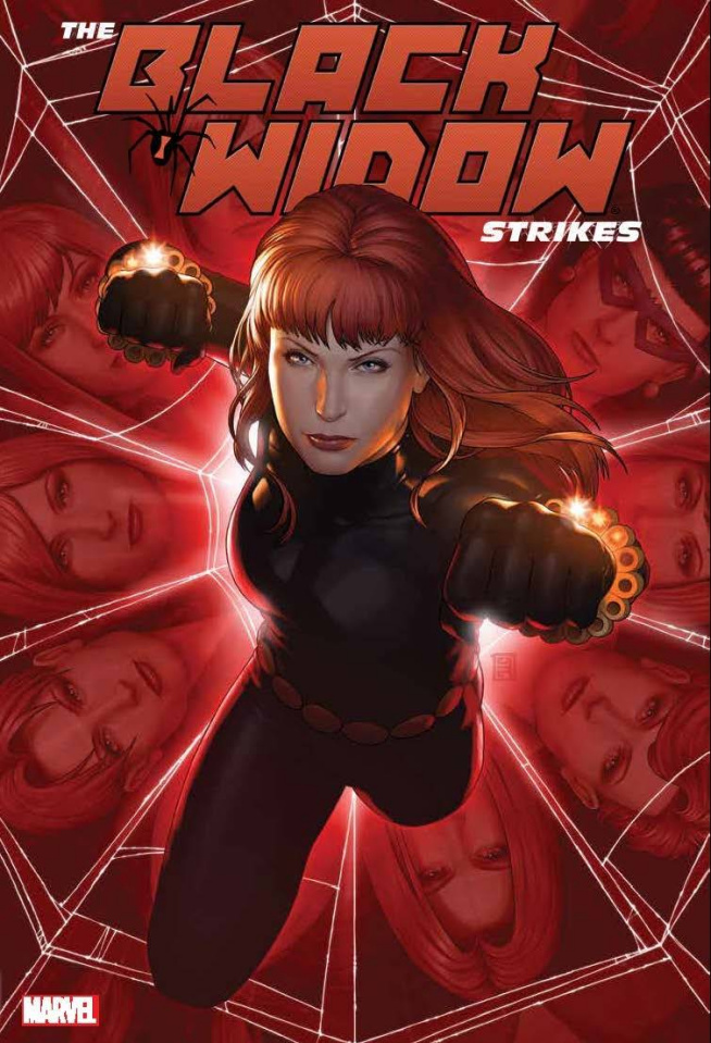 The Black Widow Strikes (Omnibus)