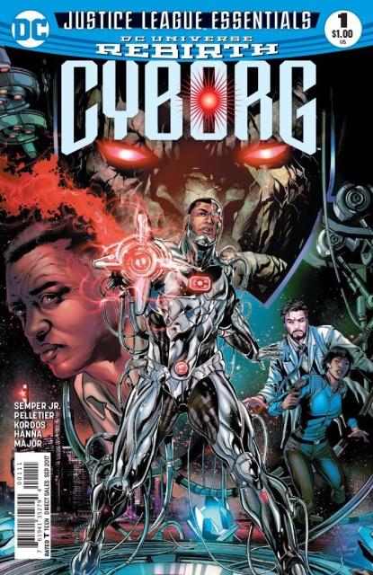 Justice League Essentials: Cyborg #1 Rebirth