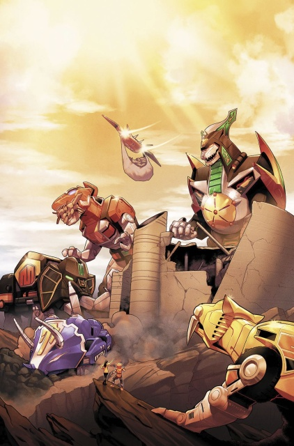 Mighty Morphin' Power Rangers #17