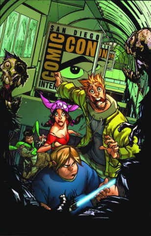 Fanboys vs. Zombies #1 (2nd Printing)
