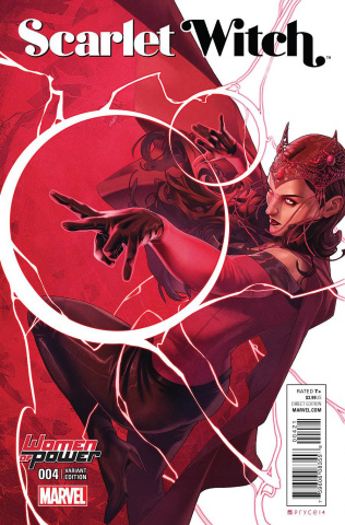 Scarlet Witch #4 (Campbell Wop Cover)