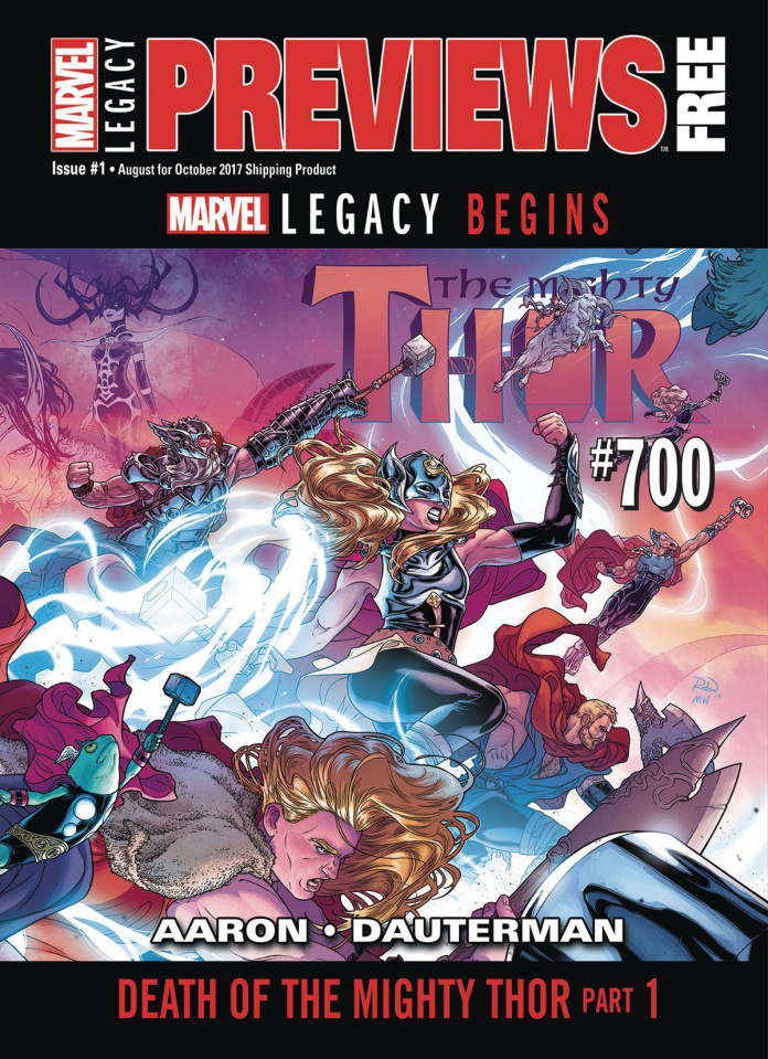 Marvel Previews #25: August 2017 Extras
