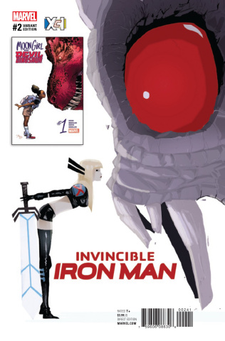 Invincible Iron Man #2 (Campion XcI Cover)