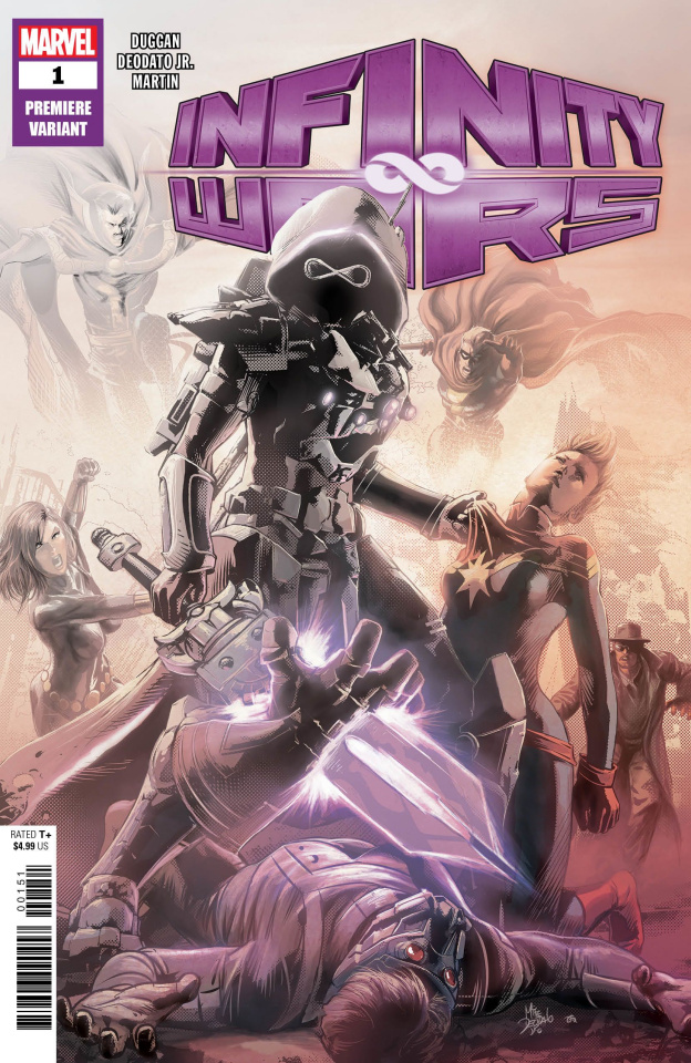 Infinity Wars #1 (Deodato Premiere Cover)