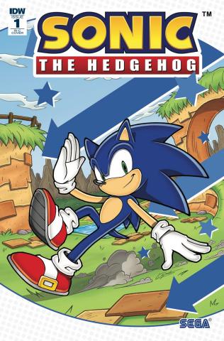 Sonic the Hedgehog #1 (100 Copy Cover)
