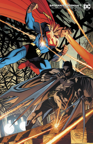 Batman / Superman #7 (Card Stock Andy Kubert Cover)