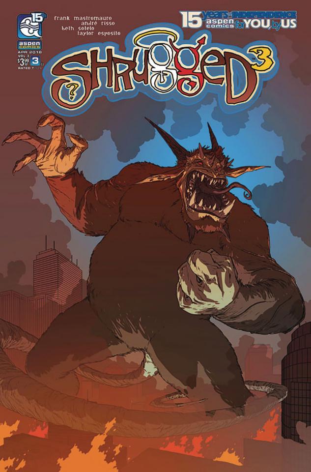 Shrugged #3 (Gunnell Cover)