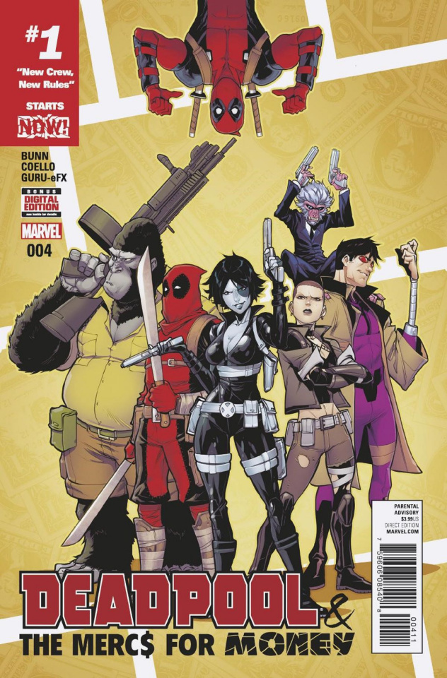 Deadpool and the Mercs For Money #4