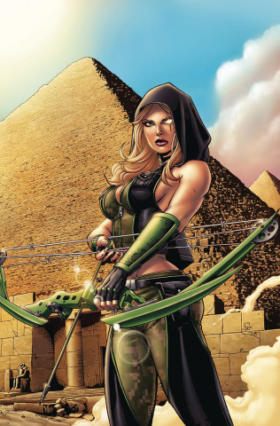 Grimm Fairy Tales 2019 Giant Size #1 (Spay Cover)