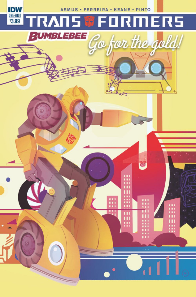 The Transformers: Bumblebee - Go For the Gold!