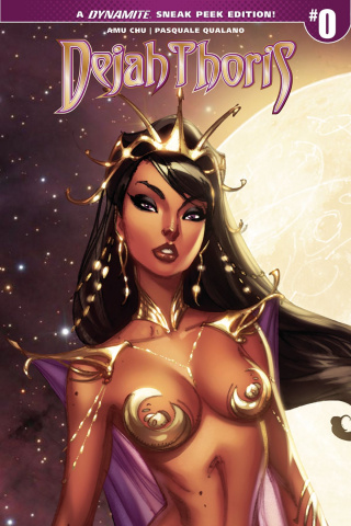 Dejah Thoris #0 (100 Copy Campbell Cover)