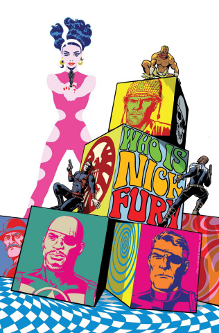 Nick Fury #3 (Blanco Cover)