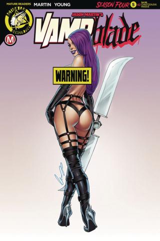 Vampblade, Season Four #5 (Chatzoudis Risque Cover)