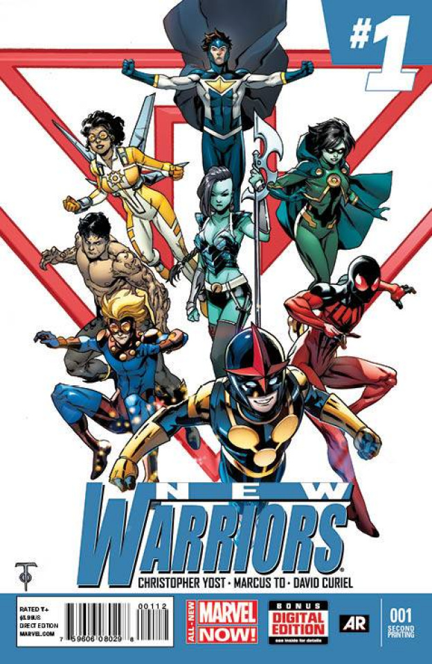New Warriors #1 (2nd Printing)