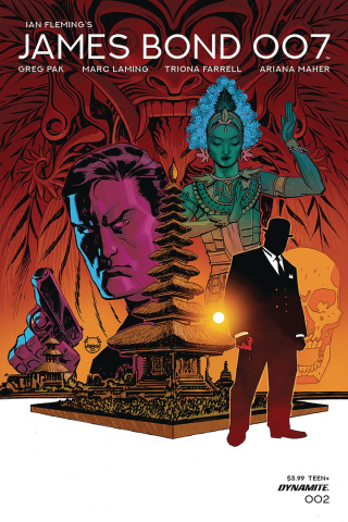 James Bond: 007 #2 (Johnson Cover)