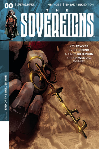 The Sovereigns #0 (25 Copy Segovia Sneak Peek Cover)