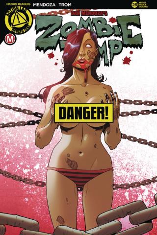 Zombie Tramp #26 (Pekar Risque Cover)