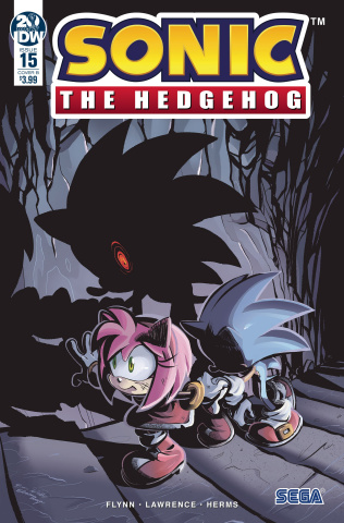 Sonic the Hedgehog #15 (Skelly Cover)