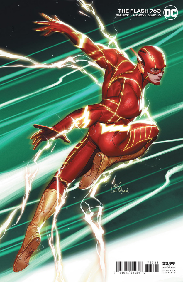 The Flash #763 (Inhyuk Lee Cover)