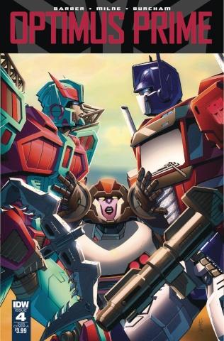 Optimus Prime #4 (10 Copy Cover)