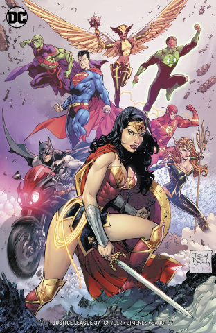 Justice League #37 (Variant Cover)