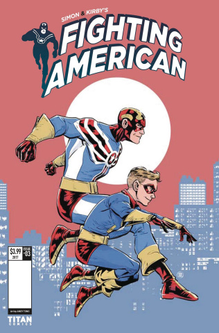 Fighting American: The Ties That Bind #3 (Tong Cover)