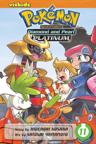 Pokemon Adventures: Platinum and Pearl Vol. 11