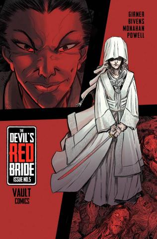 The Devil's Red Bride #5 (Bivens Cover)